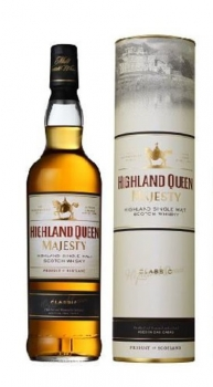 Highland Queen Majesty Single Malt Scotch Whisky 40% vol 0,7L (classic)