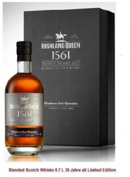 Highland Queen Blended Scotch Whisky 40% vol 0,7L (30 Jahre alt) Limited Edition