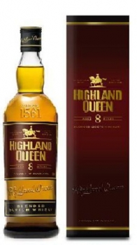 Highland Queen Blended Scotch Whisky 40% vol 0,7L (8 Jahre alt)