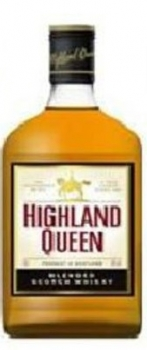 Highland Queen Blended Scotch Whisky 40% vol 0,35L