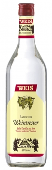 Weintresterbrand 40%vol 1,0l