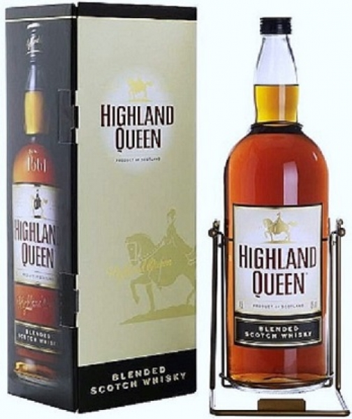 Highland Queen Blended Scotch Whisky 40% vol 4,5L