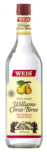 Williams-Christ-Birne 40%vol 1,0l