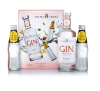 Citrus Infusion Gin  43 %vol 0,5L Geschenkpackung mit 2 Flaschen Indian Tonic je 200ml
